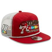 Kyle Busch New Era Golfer Snapback Adjustable Hat - Red/White - OSFA