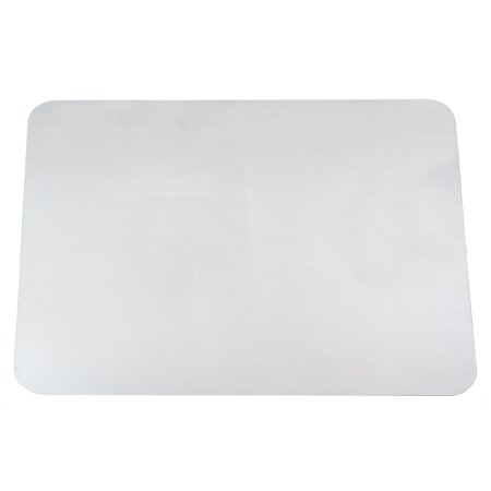 """24"""" x 38"""" Krystal View™ Clear Antimicrobial Desk Pad Organizer with Microban®, Clear"""