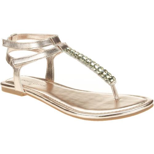 Faded Glory Women's SDL Jeweled Sandal