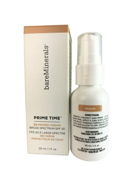 Bare Min. Prime Timexc2xaeBB Cr. Daily Def. SPF 30 Med. 1 oz