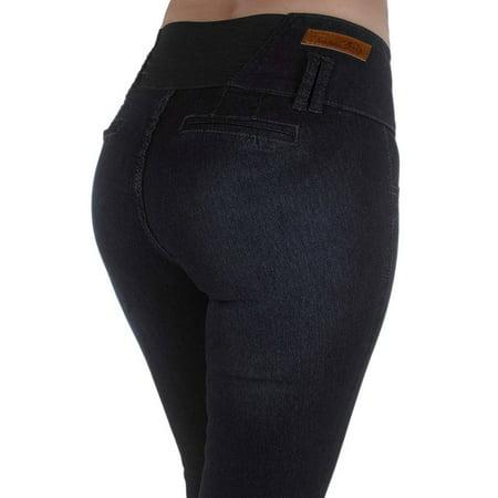 Plus Size High Waist Jeans (Plus Size High Waist Design Butt lift, Elastic Waist, Skinny Jeans )