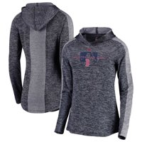 20350bdea2f Product Image Boston Red Sox Majestic Women s Authentic Collection Ultra- Light Raglan Pullover Hoodie - Navy