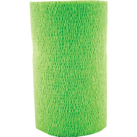 3m D-Vetrap Bandaging Tape- Lime Green 4inch X 5 Yard (Case of 18 )