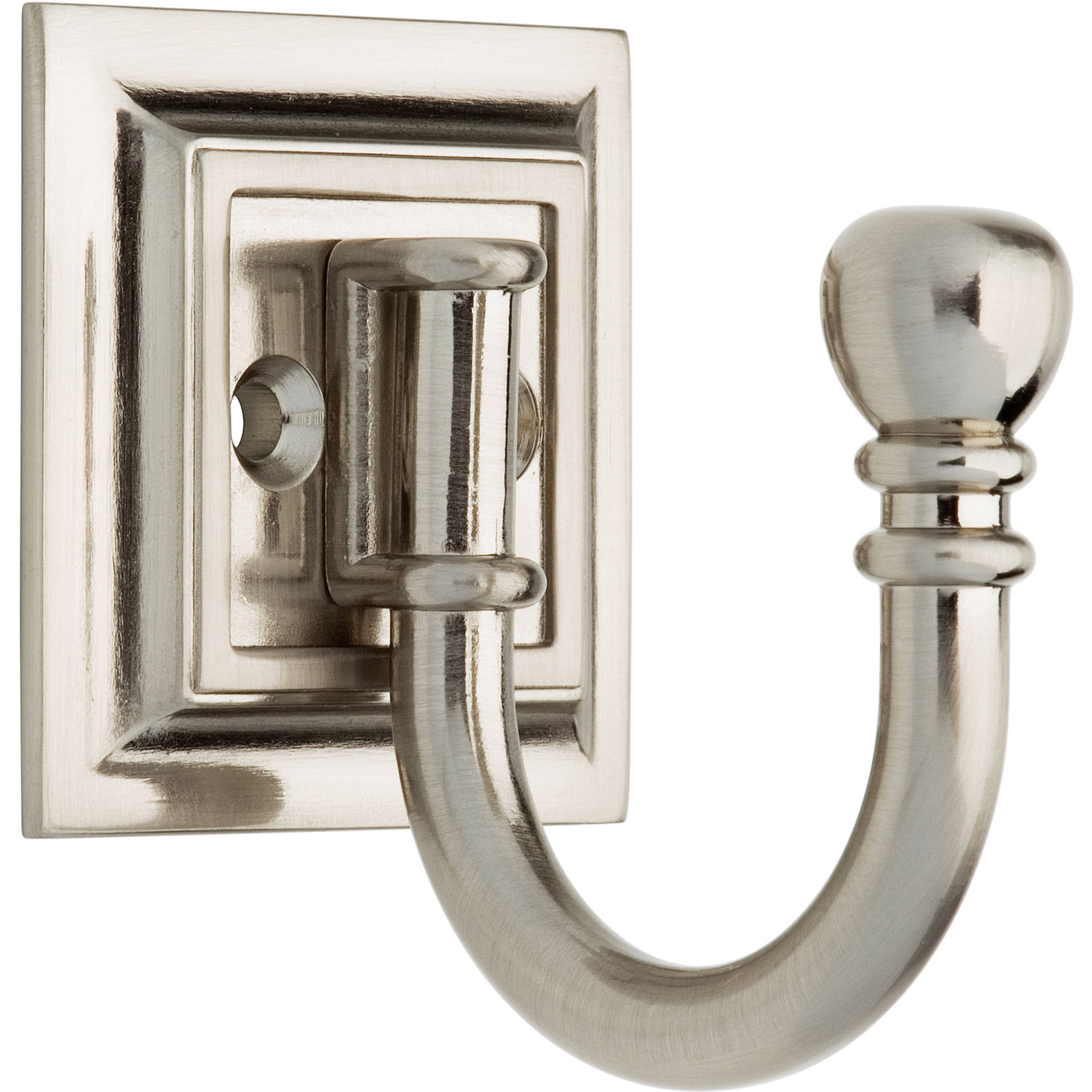 Brainerd Architectural Single Prong Hook, Available in Multiple Colors