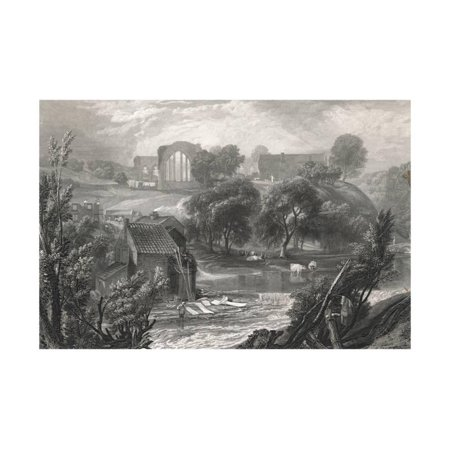 English Country Scenes (An English Country Scene Print Wall Art )