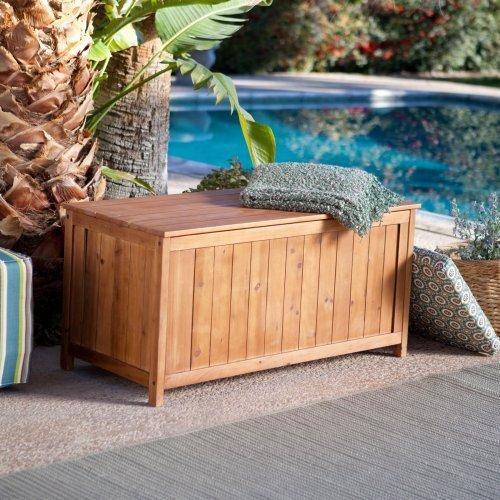 Coral Coast Deck Storage Box - Warm Honey Stain