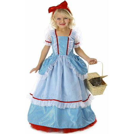 Wizard of Oz Deluxe Dorothy Girls' Child Halloween Costume - Childs Dorothy Wizard Of Oz Costume