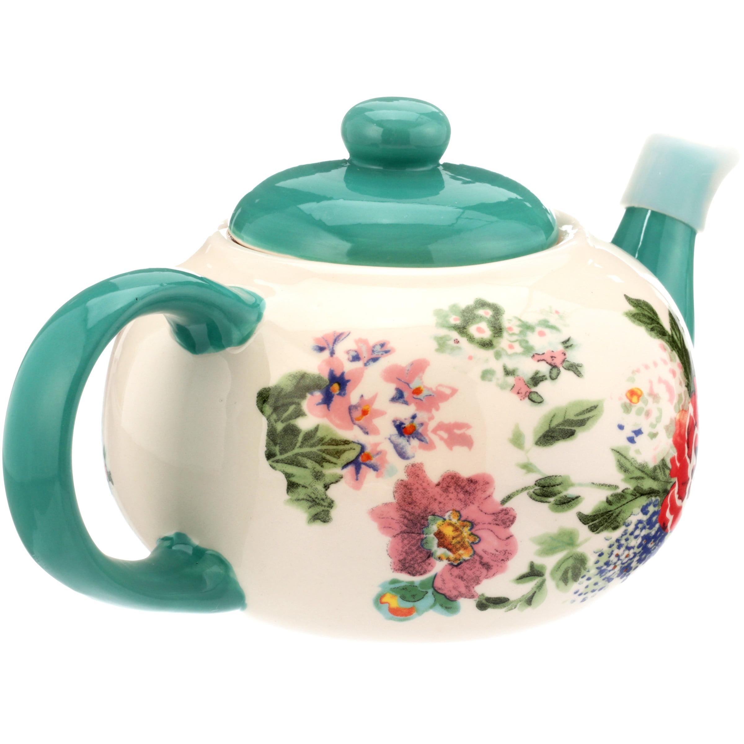 The Pioneer Woman Country Garden Teapot   Walmart.com