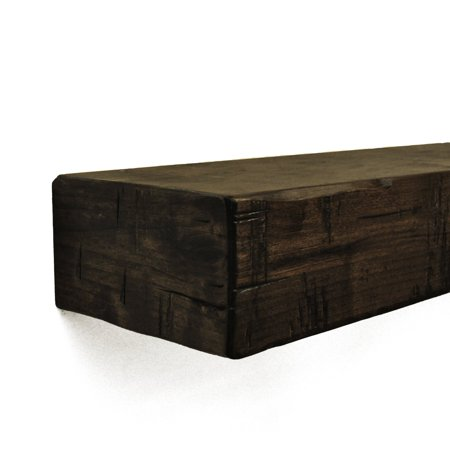 Dogberry Collections Rustic Mantel Shelf - Rustic Mantel Decor
