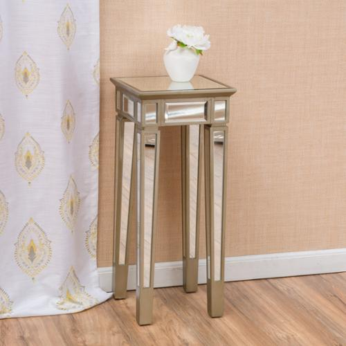 Christopher Knight Home Crawford Vintage Mirror End Table By