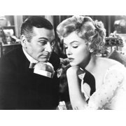 The Prince And The Showgirl From Left: Laurence Olivier Marilyn Monroe 1957 Photo Print - Item # VAREVCMBDPRANEC189H