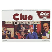 Retro Series Clue 1986 Edition Game, for 3-6 Players