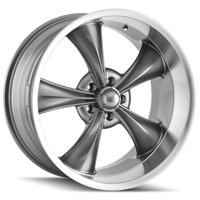 "Ridler 695 18x9.5 5x5"" +6mm Gunmetal Wheel Rim 18"" Inch"