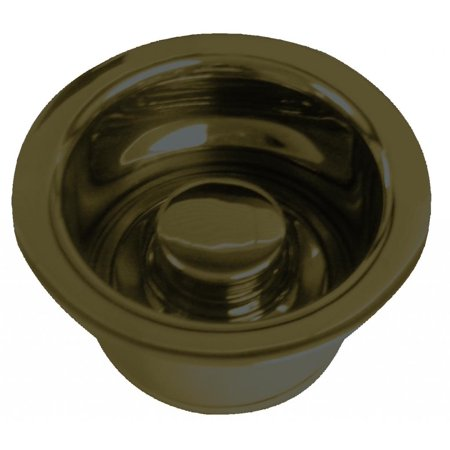 Westbrass D2082-12 Extra Deep ISE Disposal Flange and Stopper - Oil