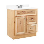Rsi Home Products Sales CBHNHK30D Hamilton Bathroom Vanity, Hickory Finish, 30 x 21 x 33.5-In.