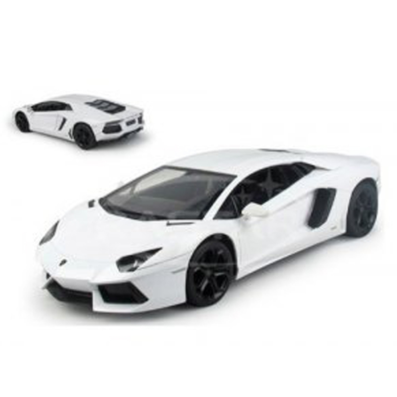 "10"" 1:14 Lamborghini Aventador LP700 White R C Radio Control Car (Gift Idea) RC Car R... by"