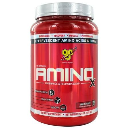 - Amino X BCAA Endurance et récupération Agent Fruit Punch - 358 onces.