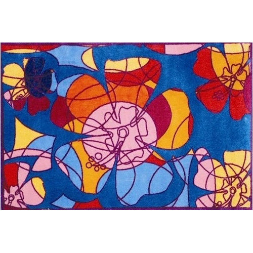 Fun Rugs Supreme Retroactive Flower Area Rug