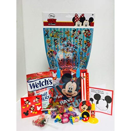 happy diy easter birthday baskets kids girls boys girl toddlers gift egg toddler gifts themed set artificial grass decorations toys stuffers bag package included party favors minnie & mickey mouse