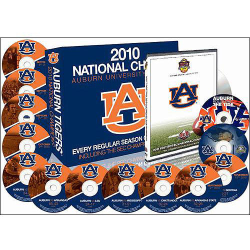 Auburn Tigers: The 2010 Perfect Season (With Championship Game)