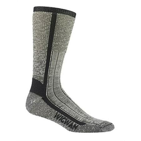 Wigwam Mills F1374-057-XL At Work Foot Guard Sock Size X-Large Charcoal