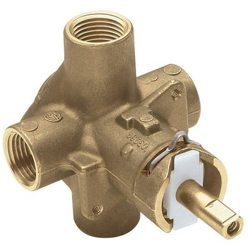 Moen 2510 1/2 Inch IPS Posi-Temp Pressure Balancing Rough-In Valve