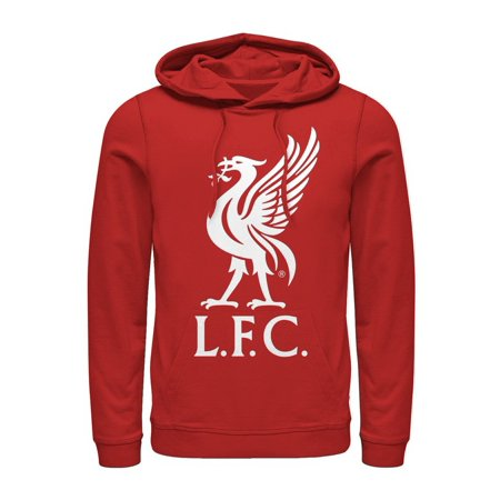 Logo Hoodie Top - Liverpool Football Club Men's Bird Logo Hoodie
