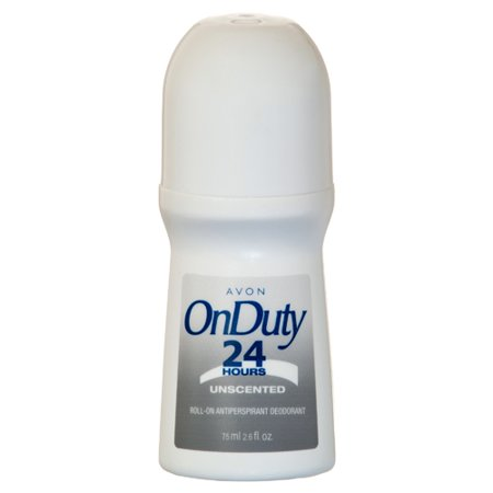 New 350714  Avon Roll On Deodorant On Duty 24Hr Unscented 2.6 Oz (28-Pack) Skin Care Cheap Wholesale Discount Bulk Health & Beauty Skin Care