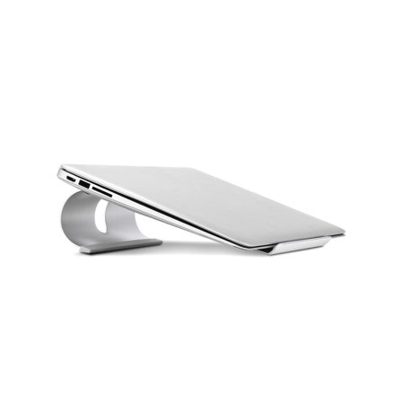 Portable Aluminum Ventilated Ergonomic Riser Laptop Stand with Non-Slip Pads cbst