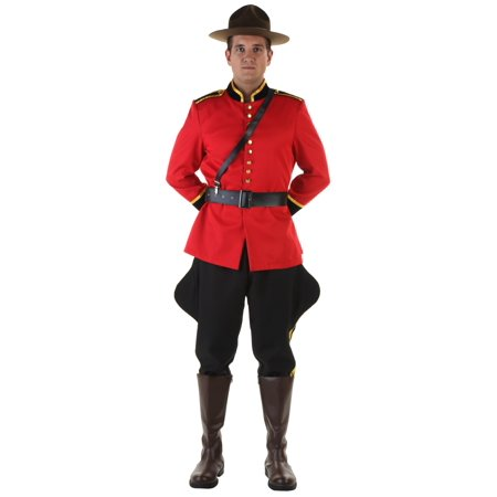 Plus Size Canadian Mountie - Canada Costumes