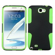 Insten Astronoot Mesh Hard Dual Layer Rubber Coated Silicone Case For Samsung Galaxy Note 2 II case cover