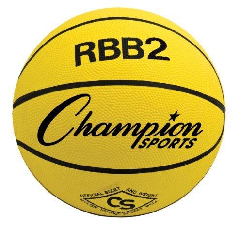 Champion Sports RBB2 Junior Rubber Basketball (27.5, Purple)