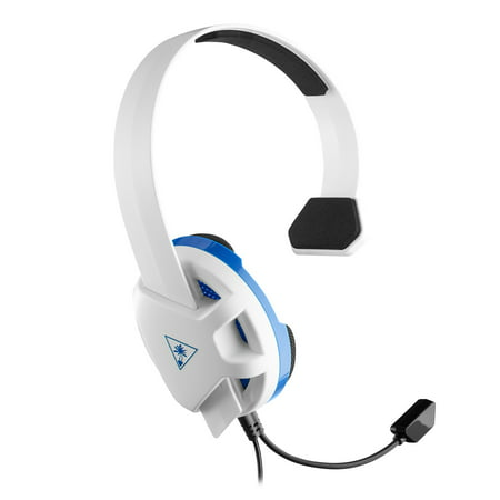 - Turtle Beach Recon Chat Headset for PS4, Xbox One, PC, Mobile (White)