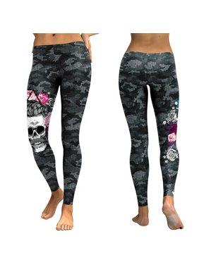 b54bd04099d7d Product Image Skull Print Leggings Fashion High Waist Pants Women Leggings Plus  Size