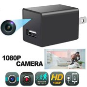 Mini Camera 1080P Full HD Charger Motion Detection Loop Record USB Wall Charger Plug