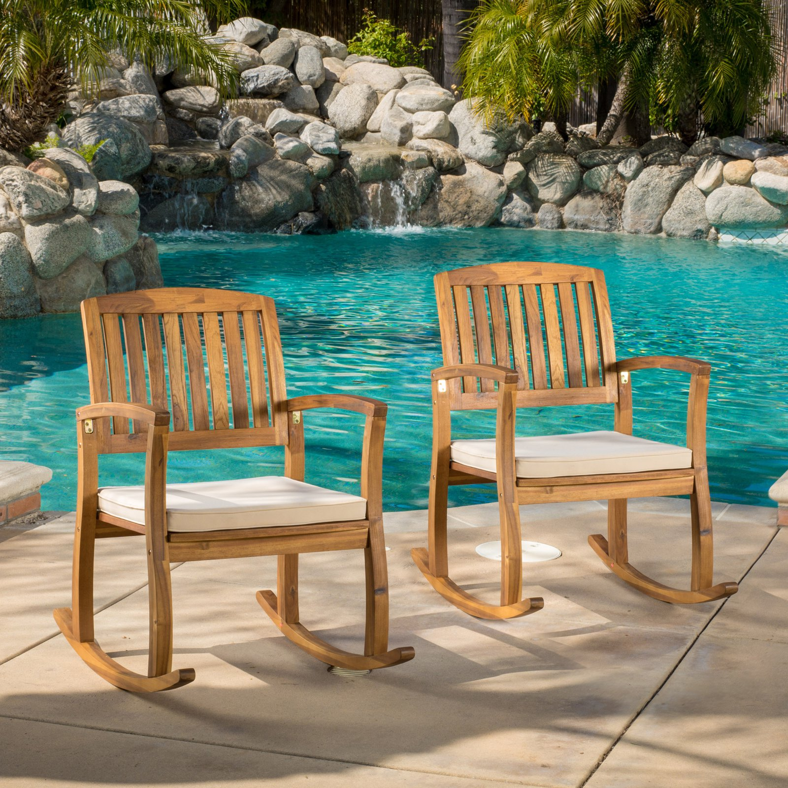 Genesis Outdoor Rocking Chair with Cushion
