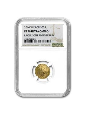 2016-W 1/10 oz Proof Gold American Eagle PF-70 NGC