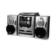 Jensen JMC-1100 Turntable 3 Speed 3 CD Changer Stereo W/Dual Cassette Deck