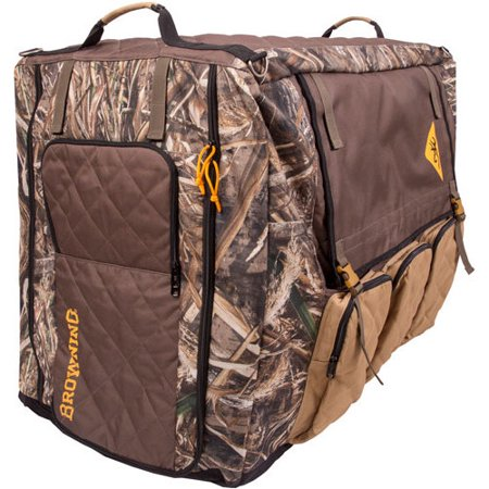 Browning Liner - BROWNING P290199 BROWNING LARGE INSULATED CRATE COVER MAX5/DULL GOLD W/STORAGE