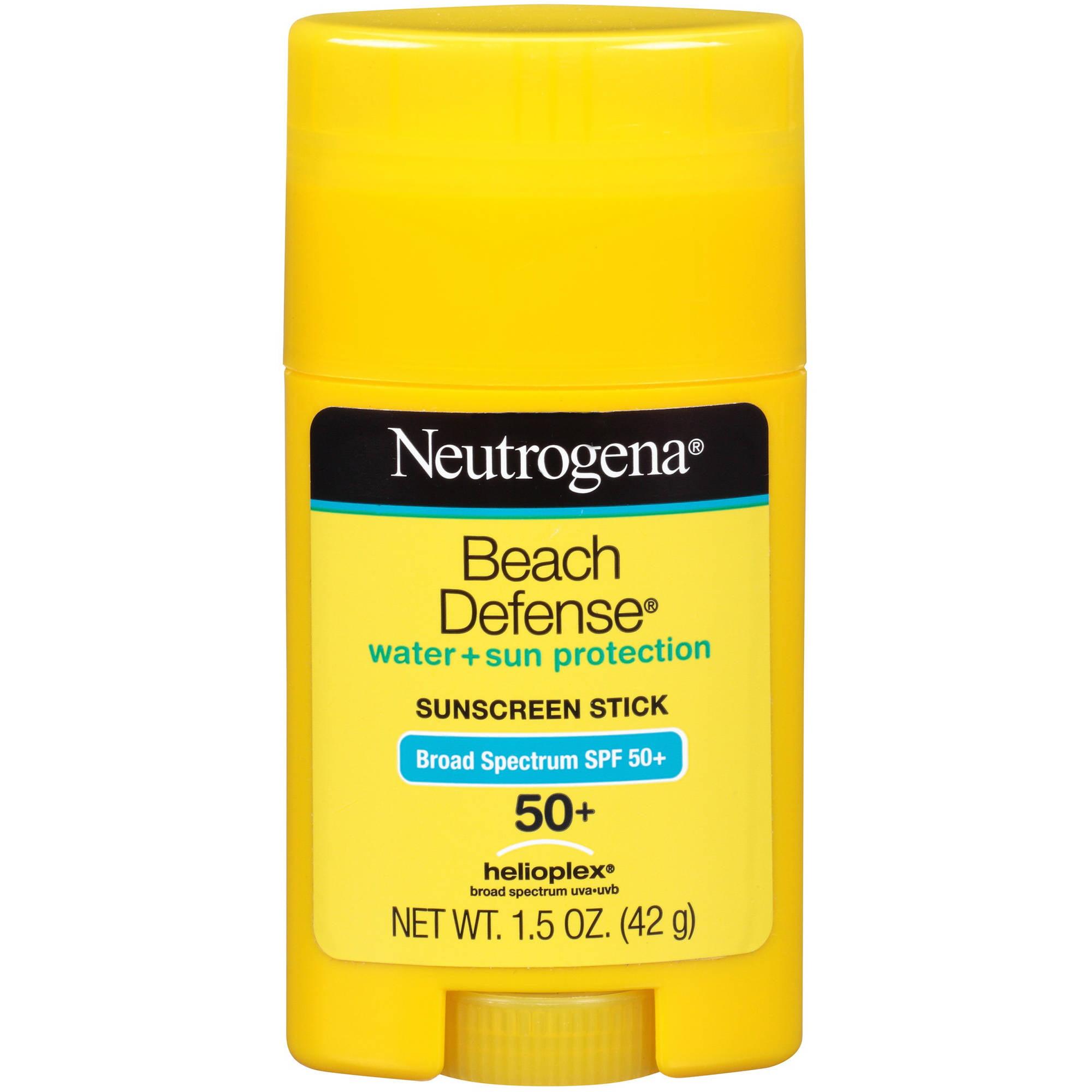 Neutrogena Beach Defense Water + Sun Barrier Sunscreen, SPF 50+, 1.5 oz