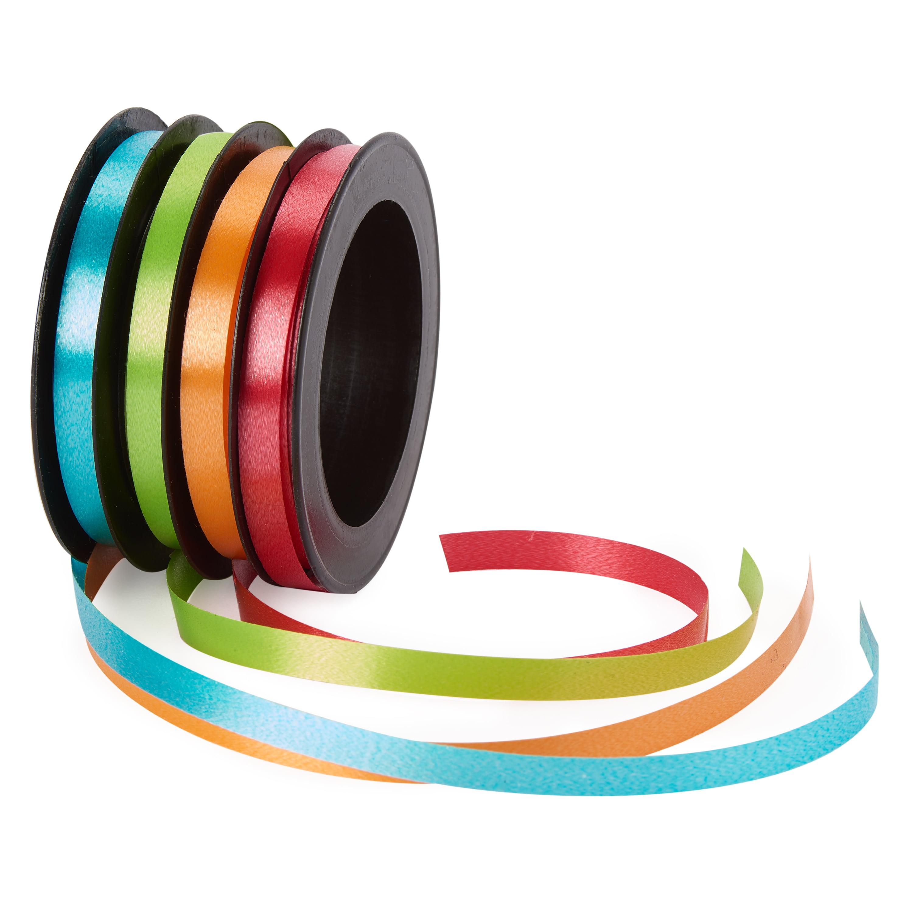 American Greetings Curling Ribbon Pack of 4 Colors, 80 ft. Total