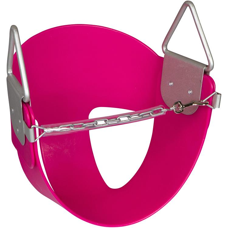 Swing Set Stuff Inc. Half Bucket Swing (Pink)