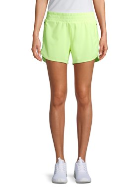 Athletic Works Women's Active Performance Running Shorts with Bike Liner