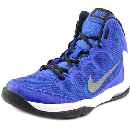 Nike Air Without A Doubt (GS) Youth US 5 Blue Basketball Shoe