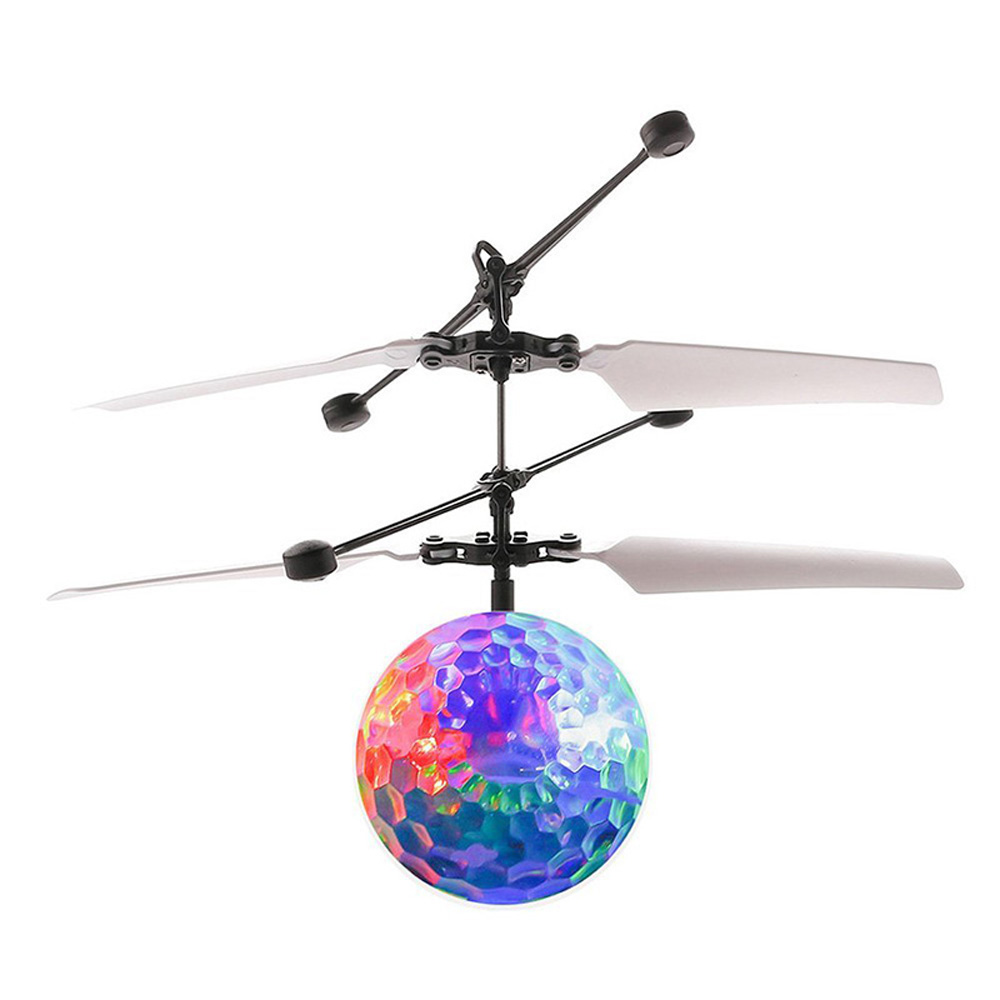Mini RC Flying Ball, Infrared Induction Helicopter Ball with Whirly Flashing LED Light for... by Unbranded