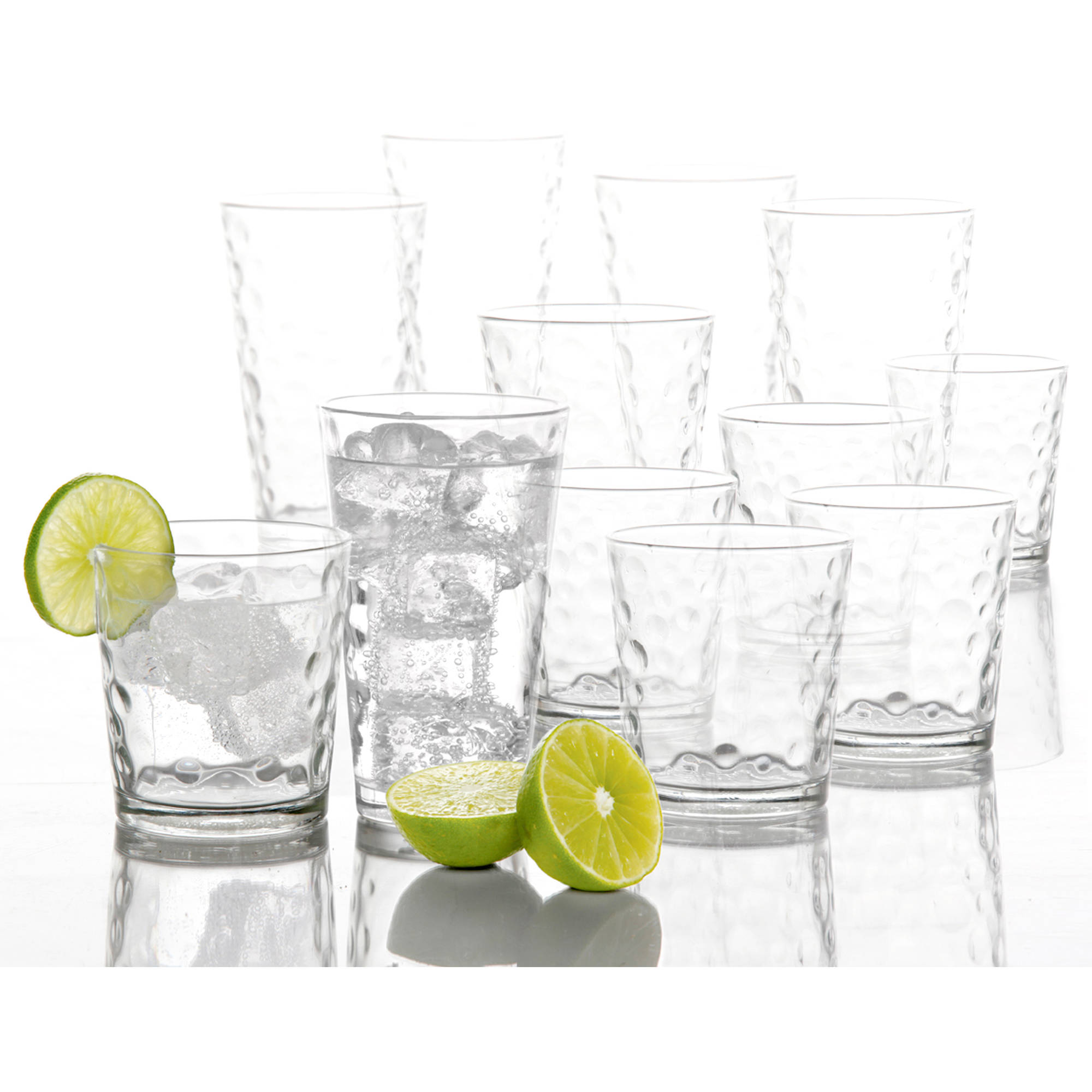 Gibson Home Hemby 16-Piece Glass Set