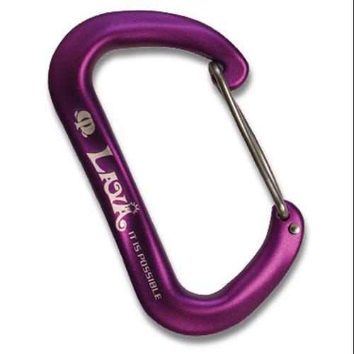 Omega Pacific Lava Infinity Wiregate Carabiner - Purple