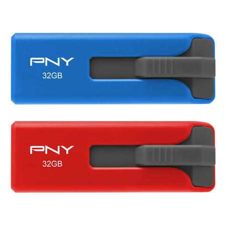 PNY 32GB USB 2.0 Flash Drive 2-Pack