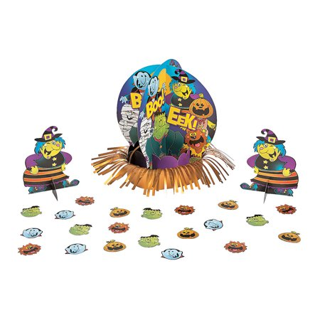 Fun Express - Boo Bunch Table Decor Kit (23pc) for Halloween - Party Decor - General Decor - Centerpieces - Halloween - 23 Pieces](Fun Names For Halloween Party Food)