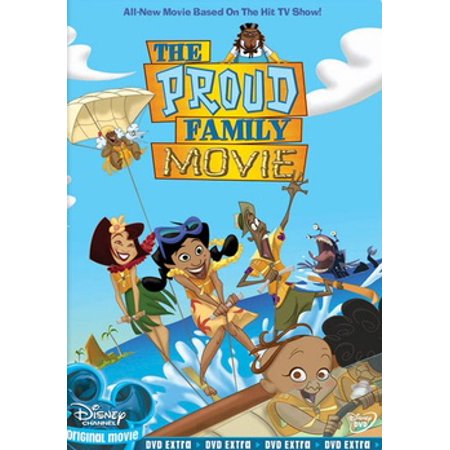 The Proud Family Movie (DVD) - Halloween Themed Movies For Families